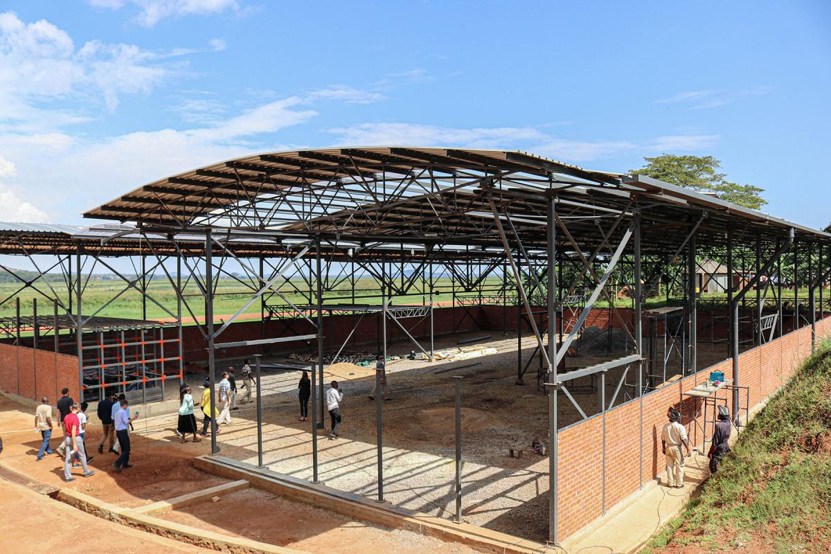 New workshop in Uganda
